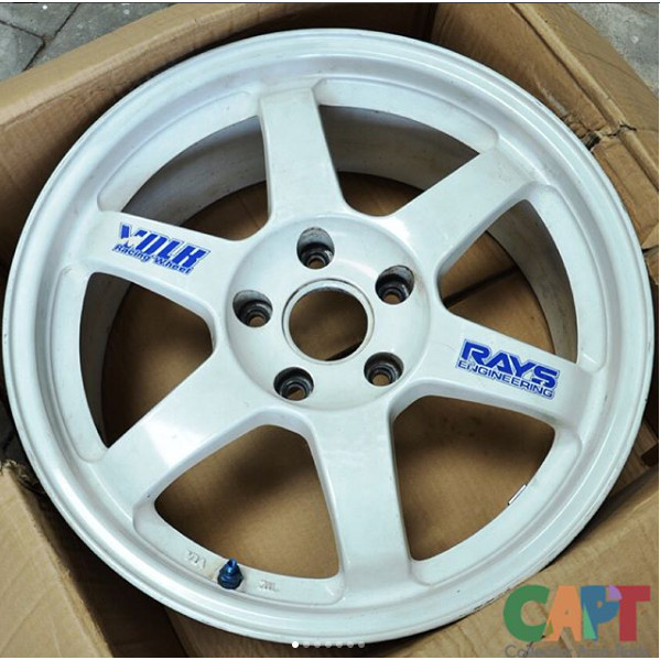 Jual Velg Volk Rays Te37 Original Wheels Kota Surabaya Collector Auto Parts Tokopedia