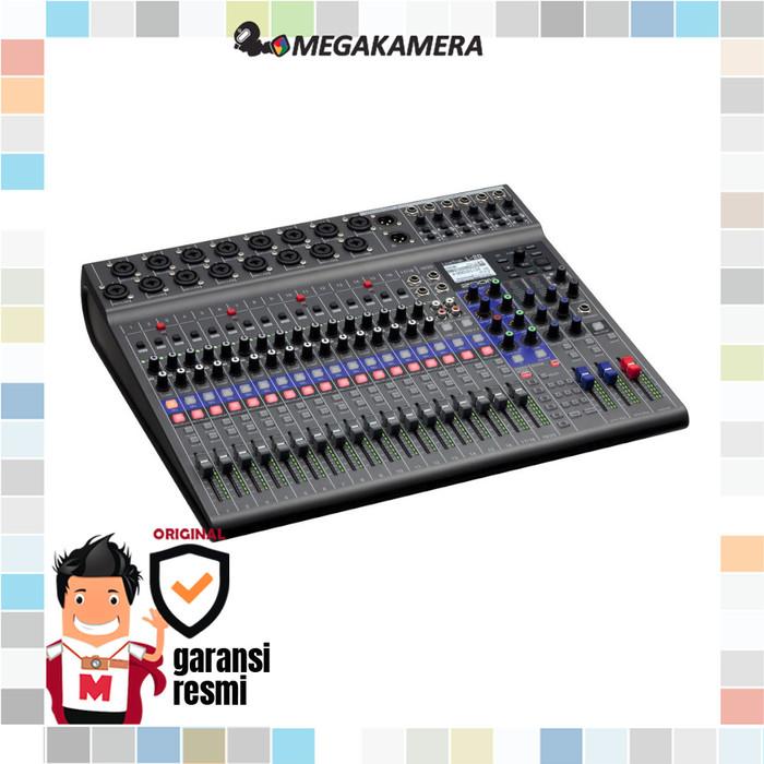 harga Zoom livetrak l-20 - 20-input digital mixer & multitrack recorder Tokopedia.com