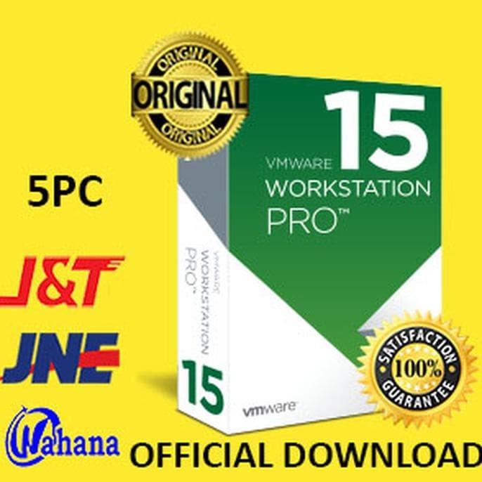 Jual Limited edition VMware Workstation 15 Pro Lifetime 5 PC Download dari  - Kota Depok - Andani Yulianti acc | Tokopedia