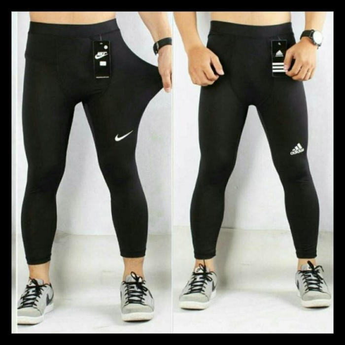 Jual Celana Manset Legging Pria Warna Hitam Bawahan Nike Adidas Murah Jakarta Utara Kai Stores Tokopedia