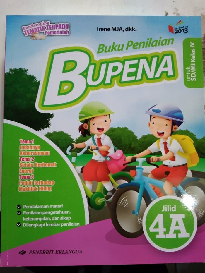 Jual Buku Sd Bupena Buku Penilaian Jilid 4a Untuk Sd Mi Kelas Iv Jakarta Pusat Jaya Wija Tokopedia