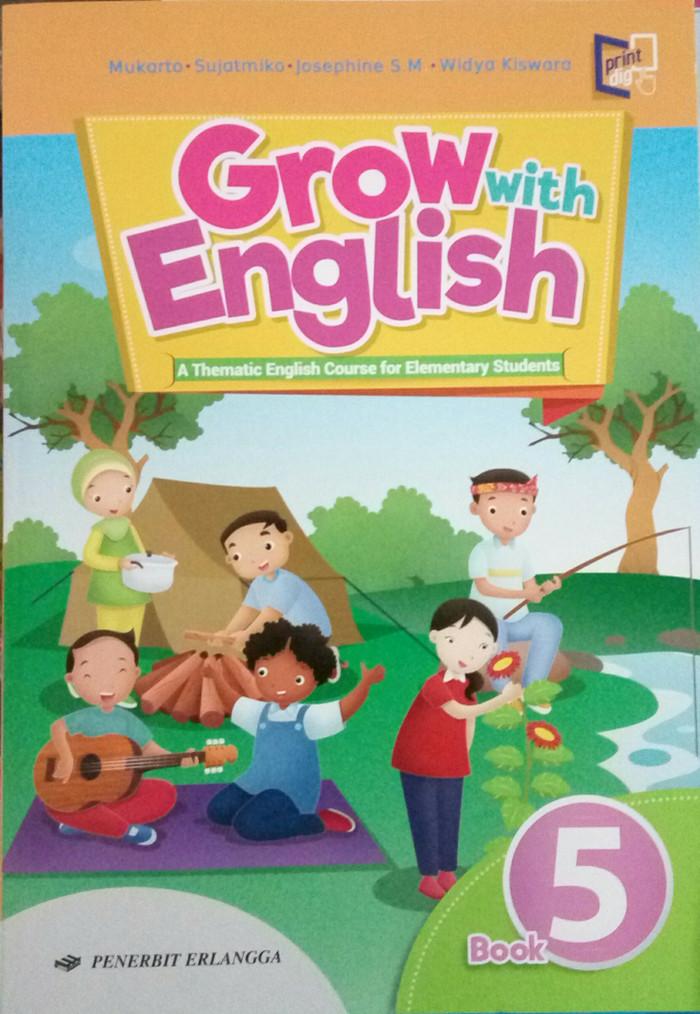 Download Buku Grow With English Kelas 1 Sd - Revisi Sekolah