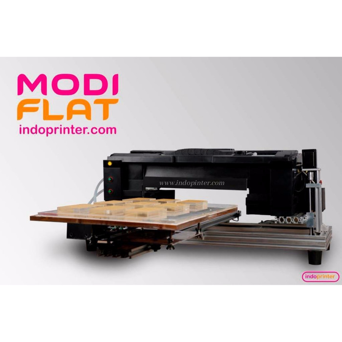Foto Produk Mesin Printer Flatbed UV LED Modiflat (Tercanggih-Terjangkau) dari Indo-Printer-Com