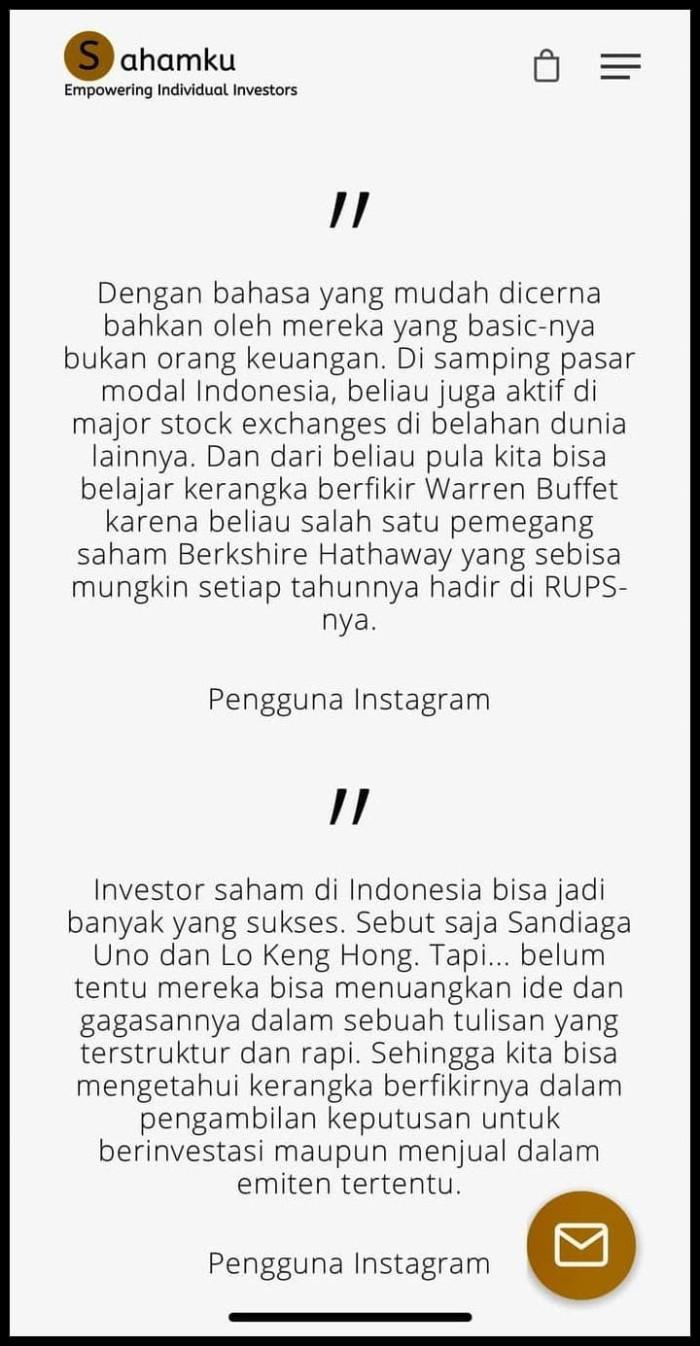 Jual Item Berkualitas Buku Investasi Saham Kab Tangerang Wulansuciyati Shop