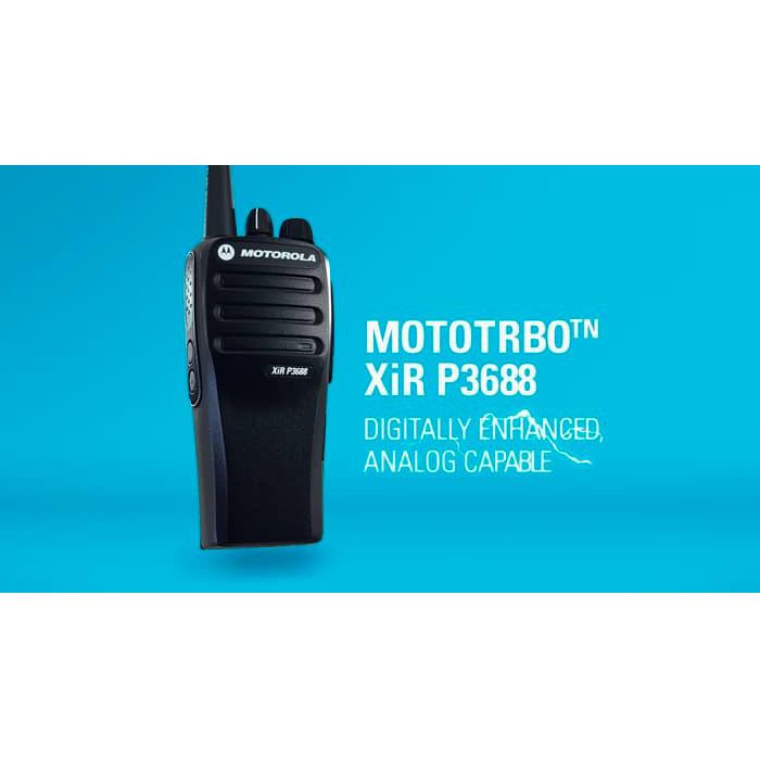 Foto Produk Motorola XiR P3688 HT UHF 403-470 Mhz Digital Analog XIR3688 dari IP-Trunk Online