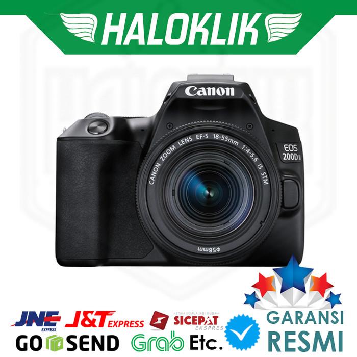 harga Canon eos 200d mark ii 18-55mm dslr kamera Tokopedia.com