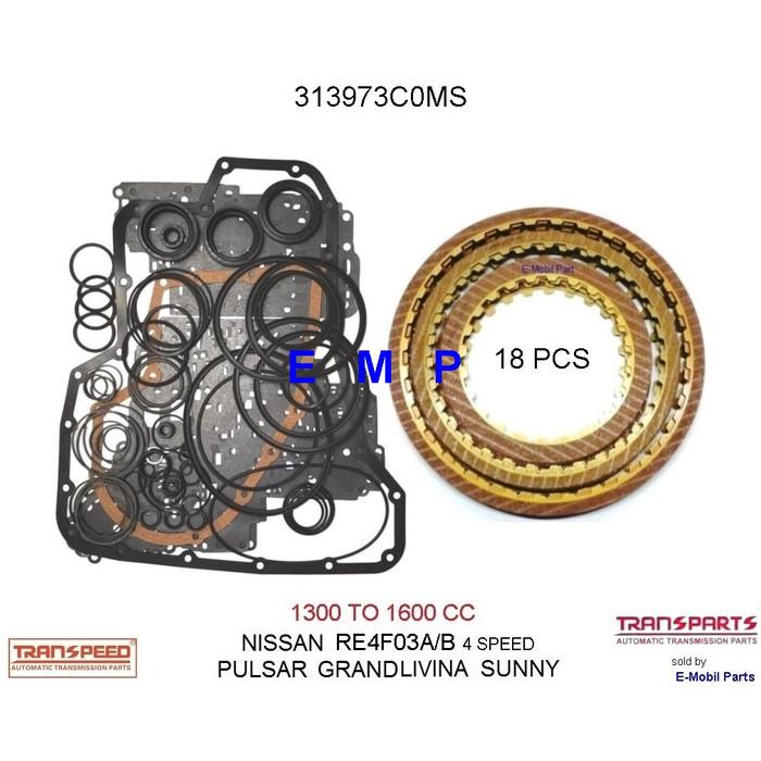 Jual Nissan Grand Livina Sunny Re4f03 Matic Transmisi Repair Kit 313973c0ms Kota Batam E Mobil Parts Emp Tokopedia