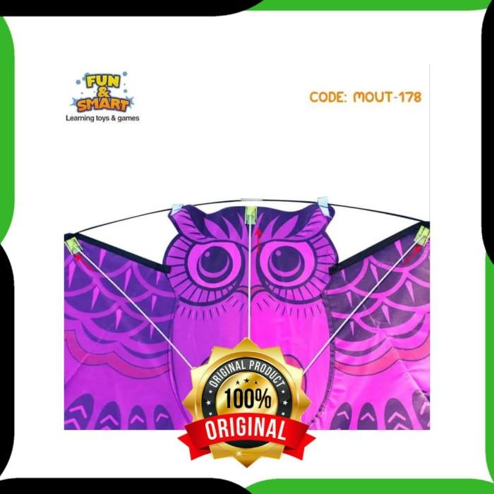 Jual Termurah Mainan Layang Karakter Burung Hantu Besar Mout 178