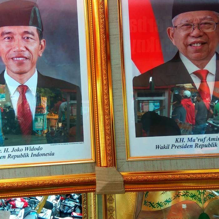 Jual Foto Gambar Presiden Dan Wakil Presiden Periode Ini Jakarta Pusat Mandiri Frame Tokopedia