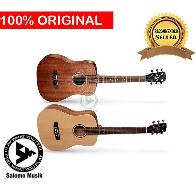 harga Gitar akustik acoustic elektrik electric original cort ad mini op 3/4 - cokelat natural Tokopedia.com