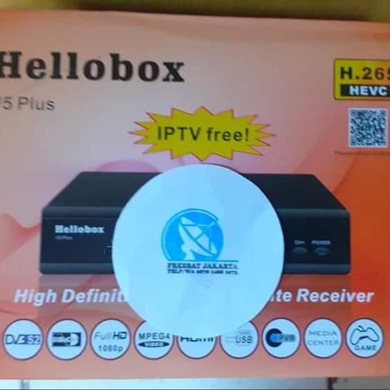 Jual HELLOBOX V5 PLUS - Kota Bekasi - Freesat Jakarta | Tokopedia