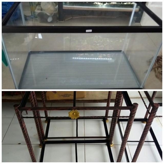 Jual Aquarium Gex 60cm Dan Rak Dki Jakarta Cring Cring Tokopedia