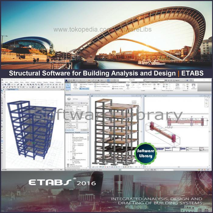 Jual ETABS 2016 v16 2 1 Build 1727 The Latest Repack - Jakarta Timur -  Software Library   Tokopedia