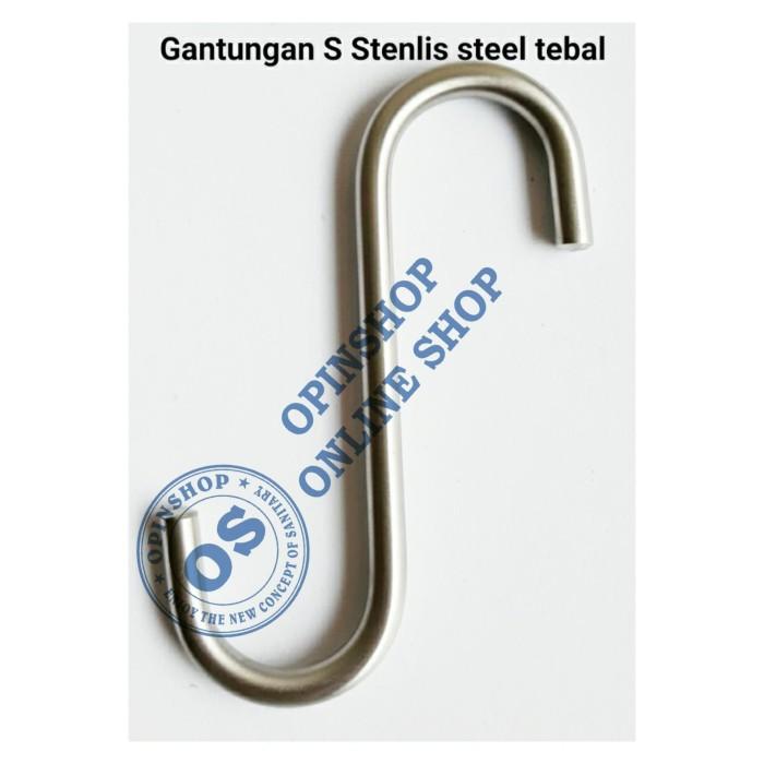 Foto Produk Gantungan hook model S stenlis steel OS-80552 dari opinshop