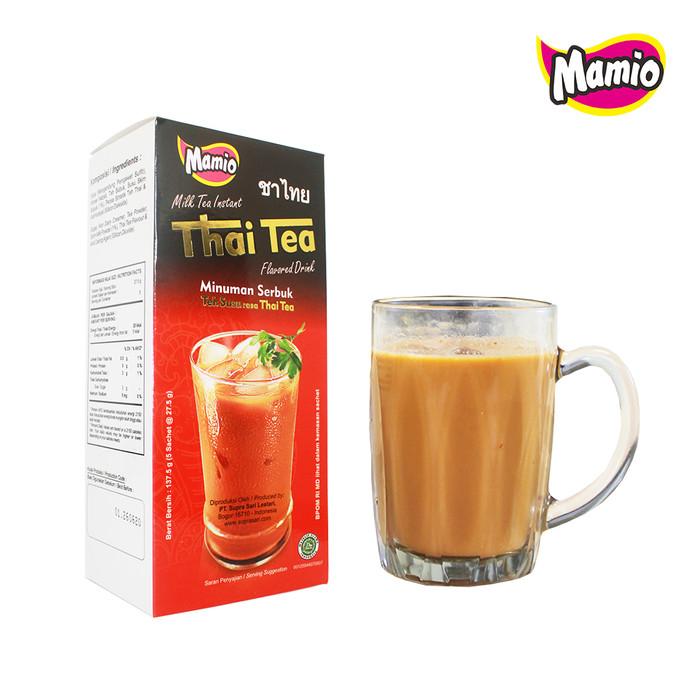 Foto Produk Thai Tea Dus Isi 5 Sachet dari CV. Herbal House Lestari