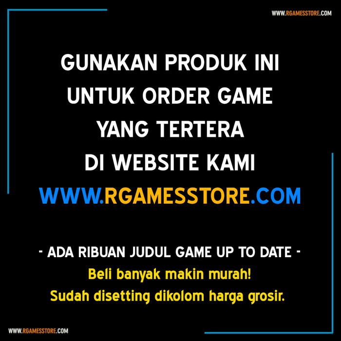 Foto Produk Game PC Laptop | Murah & Bergaransi | Installer Autorun Setup dari R GAMES STORE PC