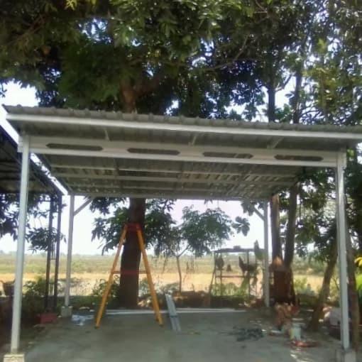 Jual Jasa Pelayanan Pemasangan Kanopi Baja Ringan Kota Padang