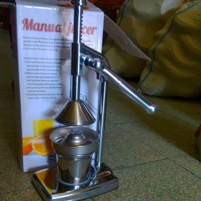 harga Alat pemeras perasan jeruk manual - manual juicer - orange squeezer Tokopedia.com
