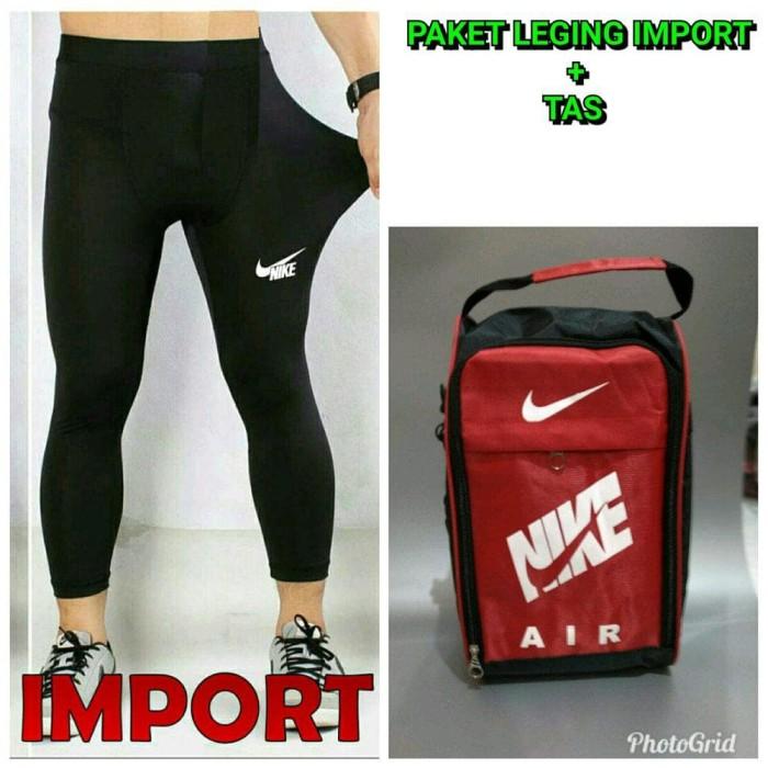 Jual Termurah Celana Legging Import Nike Futsal Bola Volly Mancing Tas Jakarta Barat Sisilala Tokopedia