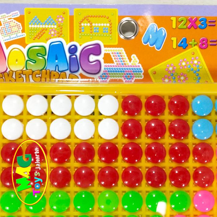 Foto Produk Mainan mozaic bead edukatif dari MAG TOYS