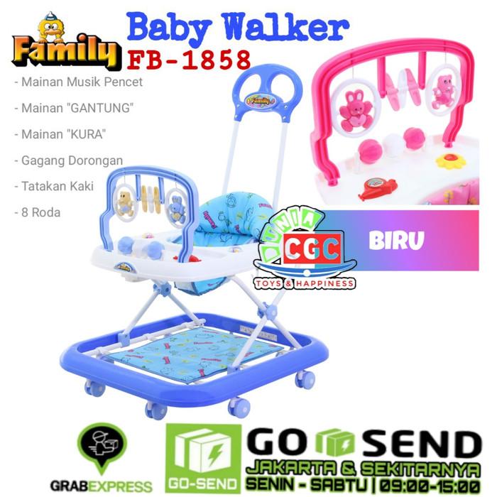 Jual Family Baby Walker Beruang 1858 Khusus Gokilat ...
