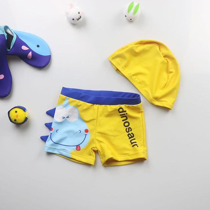 harga Celana renang anak laki-laki dan topi renang / celana + hat dino - sz 14 tosca Tokopedia.com