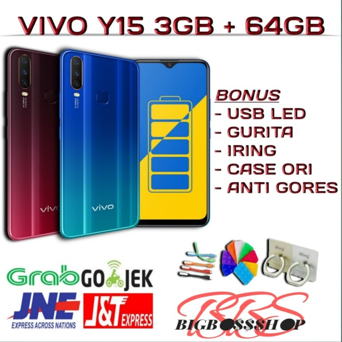 Jual VIVO Y15 3GB + 64GB NEW - Jakarta Barat - Bigbossshop | Tokopedia