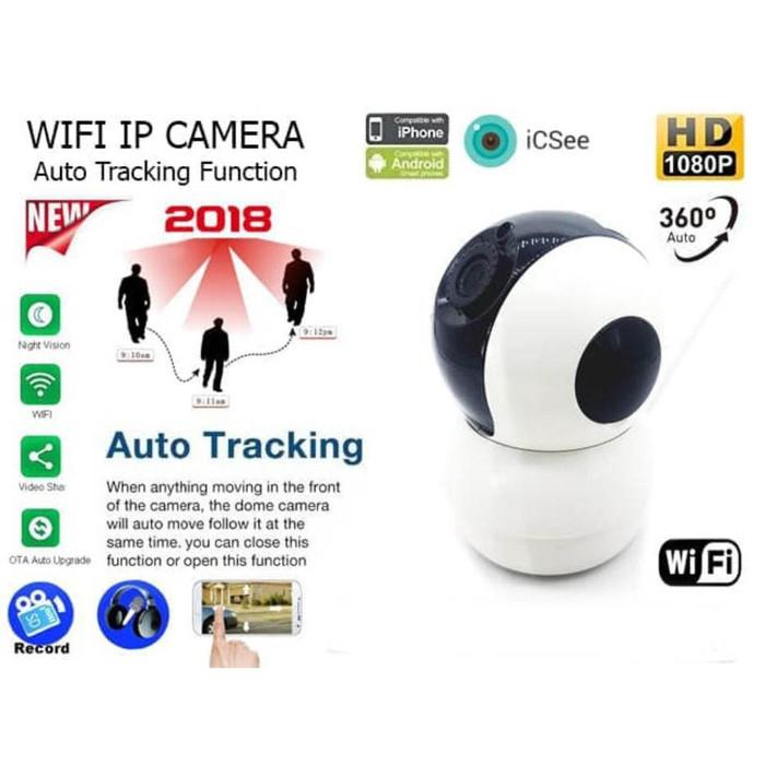 Jual BABY CAM ROBOT CAMERA FULLHD 1080P H265 AUTO TRACKING ORANG ICSEE WIFI  - Kota Medan - Medan Utara CCTV   Tokopedia