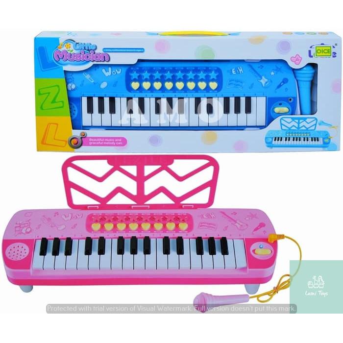 Foto Produk PIANO BEAUTIFUL MUSIC 3206 MAINAN ORGAN MUSIC PIANO Mainan Anak dari Lumi Toys