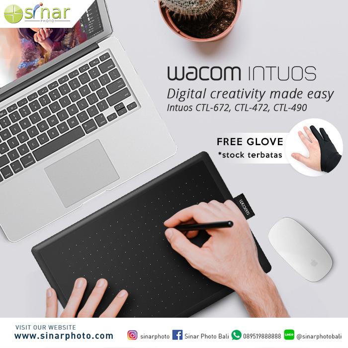 Jual One by Wacom Redwood Small CTL-472/K0-CX - Hitam - Kota Denpasar -  Sinar Photo Official - OS   Tokopedia