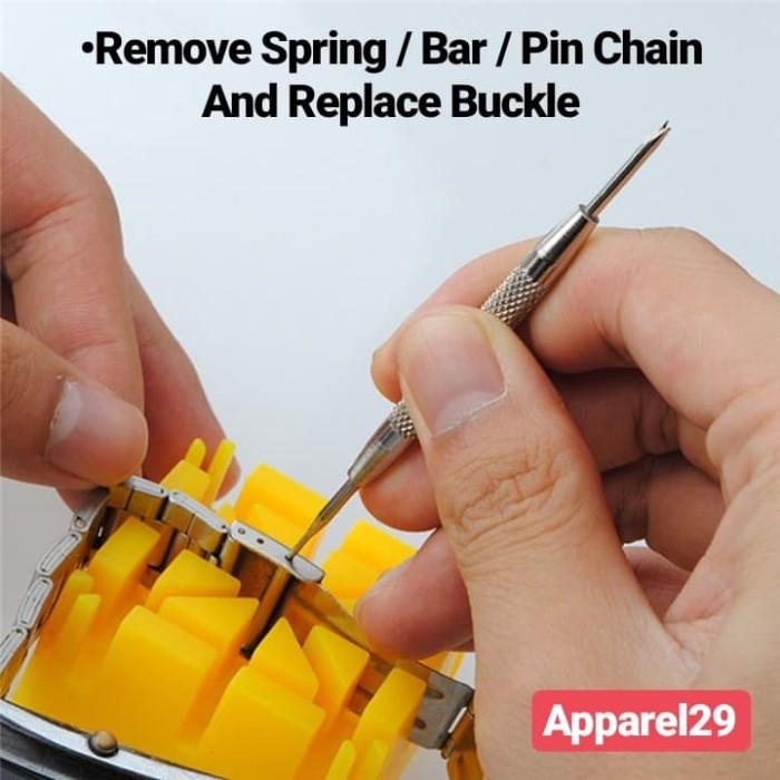 Foto Produk Obeng Jam Tangan / Screwdriver watch Remover Spring Bar / Pin Chain dari apparel29