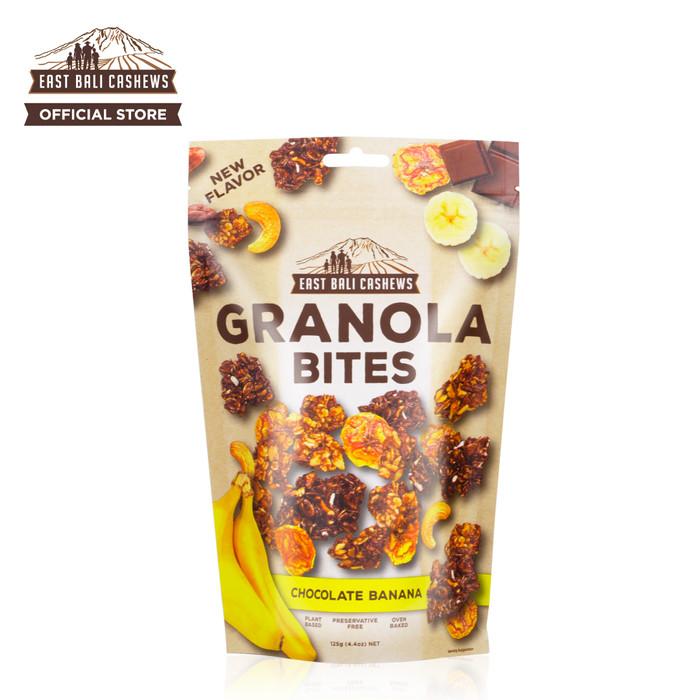 harga East bali cashews granola bites chocolate banana 125gr Tokopedia.com