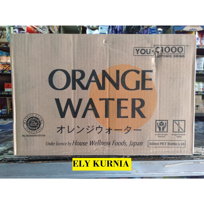 harga You c1000 isotonic drink orange water 500ml / minuman isotonik Tokopedia.com