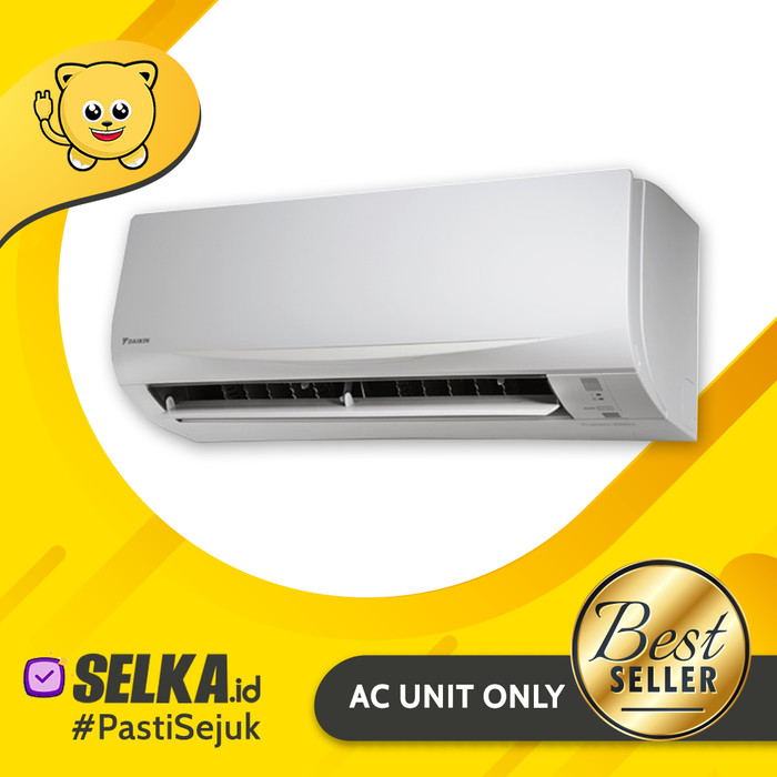 harga Daikin ftkc35qvm4 ac split 15 pk inverter smile thailand - putih Tokopedia.com