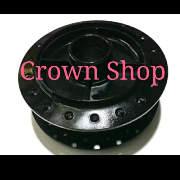 Foto Produk Tromol belakang Yamaha Rx king Warna Hitam Only 1 biji plug and play dari crown shop BL