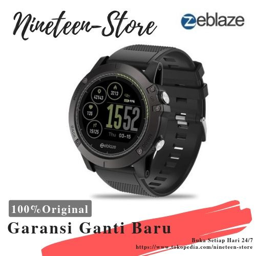 Jual New Zeblaze Vibe 3 Hr Smartwatch Ip67 Waterproof Ips Color Display Kota Bandung Nineteen Store Tokopedia
