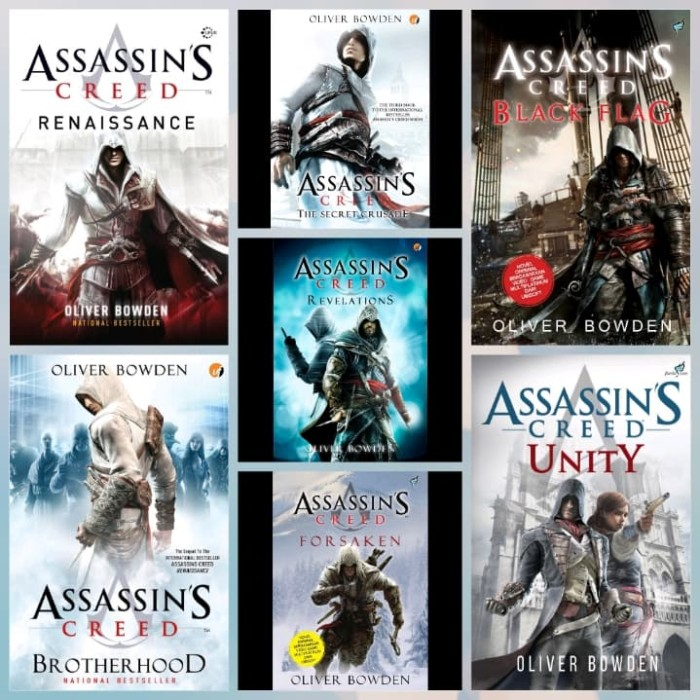 Jual Assassin S Creed Series 1 7 Oliver Bowden Ebook Rp10