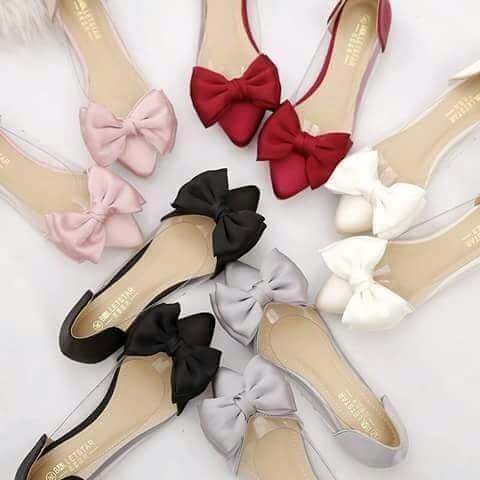 Foto Produk flat shoes pita besar dari efraim shoes
