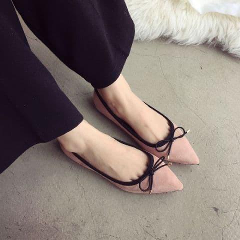 Foto Produk sepatu flat pita kecil dari efraim shoes