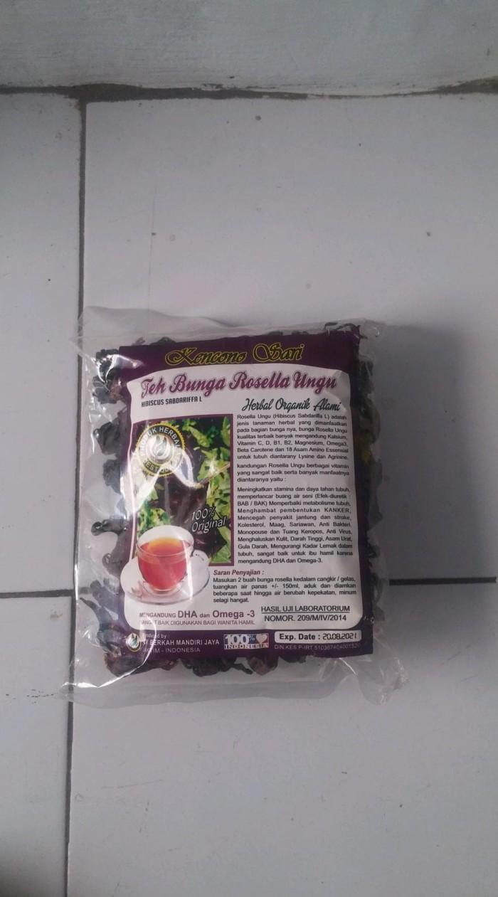 Jual TERBARU Teh Seduh Bunga Rosella Ungu Kencono Sri Kab Tangerang Melonstore Twentyeight