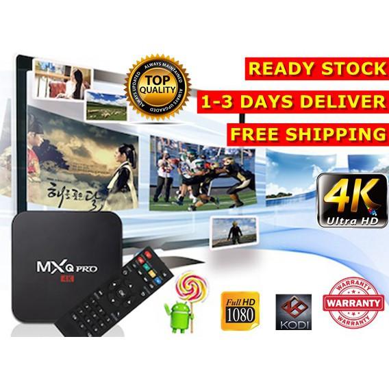 Foto Produk (PREINSTALLED 10000+CHANNELS)MXQ PRO 4K ANDROID TVBOX Latest Movie Dra dari teknologeek