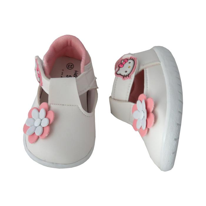 harga Balmoral kids/hk-bba37/sepatu anak kecil/sepatu bayi/sepatu sandal - 25 cream Tokopedia.com