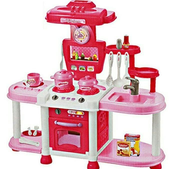Jual Mainan Anak Fashion Kitchen Besar Play Set Dapur Mini Masak Masakan Kota Yogyakarta Arinadelina Tokopedia