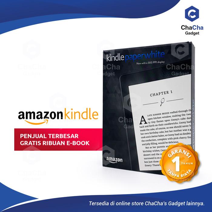 Foto Produk Amazon Kindle Paperwhite 7th 3rd Gen eBook Reader New 300ppi Ads USA dari ChaCha's Gadget