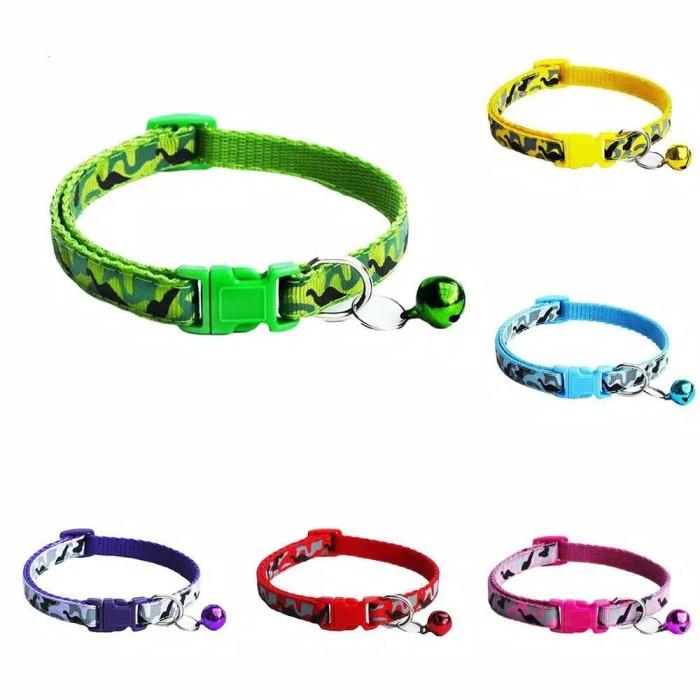 Foto Produk Kalung Kucing Anjing Hewan Peliharaan Pet Collar - Ungu dari bajunisa