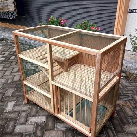 Terbaik Cara Membuat Tempat Makan Kelinci Dari Bambu ...
