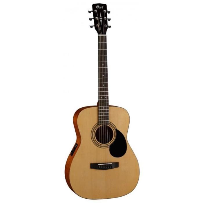 harga Gitar akustik acoustic elektrik electric original cort af 510e op Tokopedia.com