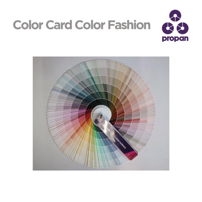 Foto Produk KARTU WARNA / COLOR CARD / FANDECK Propan Colour Fashion dari Toko Cat Propan