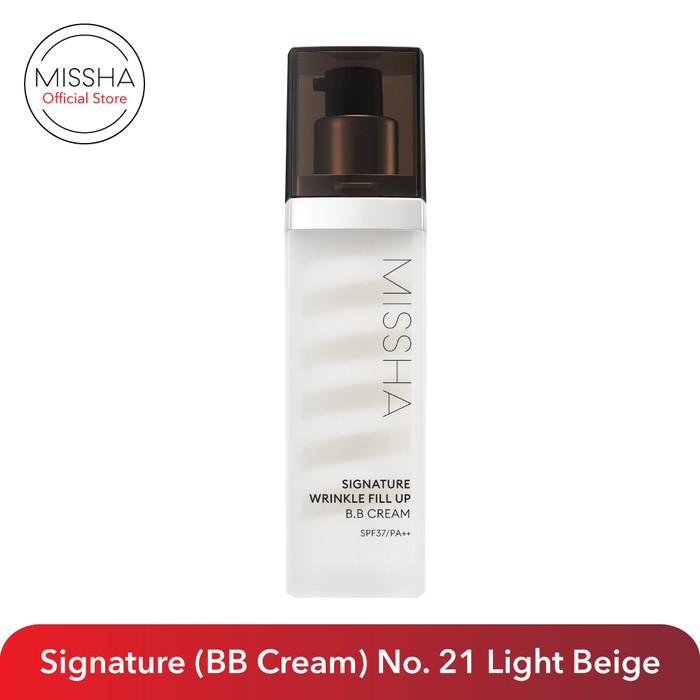 Foto Produk Missha Signature Wrinkle Fill-Up BB Cream SPF 37/PA++ (44gr) dari Missha Indonesia