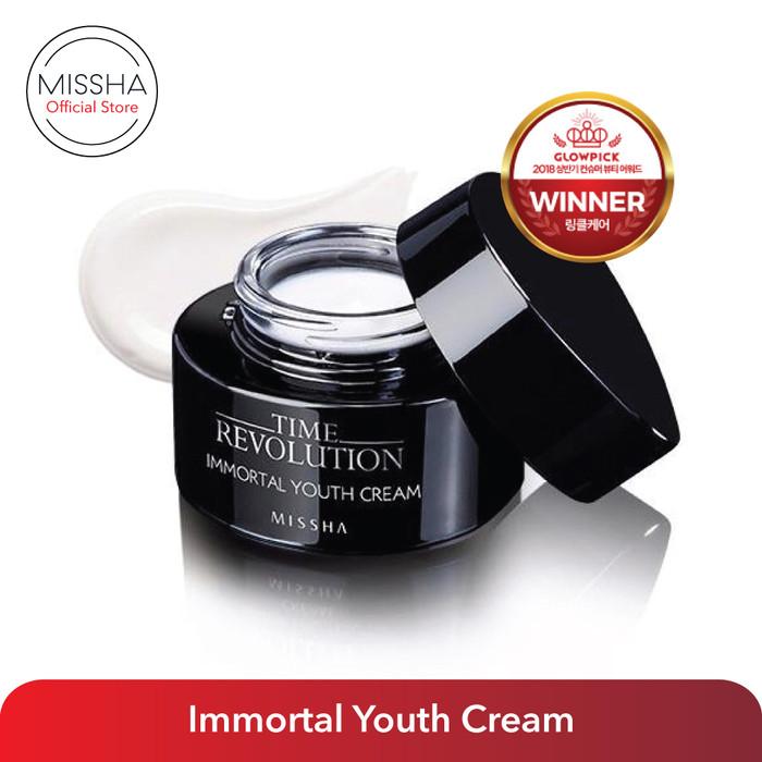 Foto Produk Missha Time Revolution Immortal Youth Cream (50ml) dari Missha Indonesia